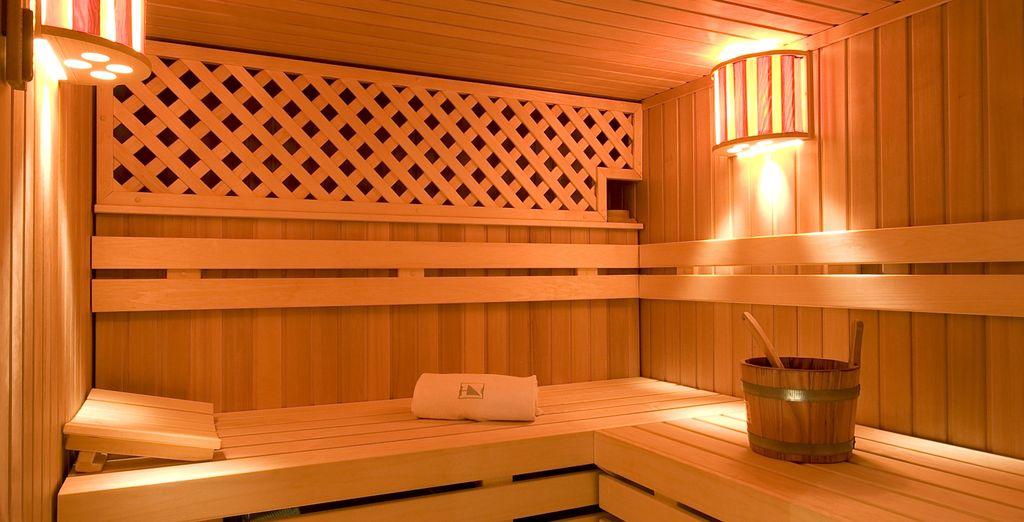 Rendez-vous au sauna pour une parenthèse bien-être