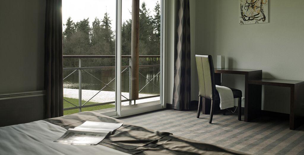 Appréciez sa décoration élégante et moderne...