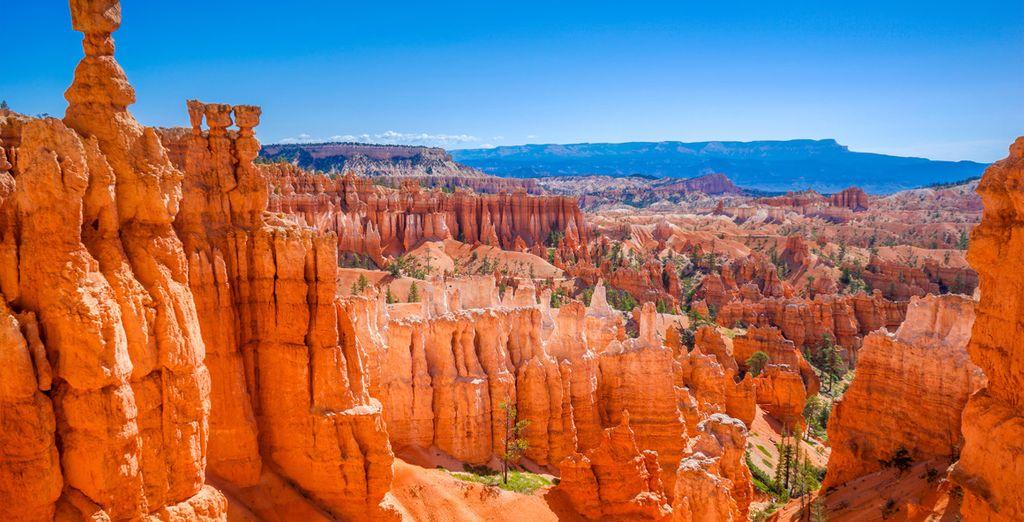 Serez ébloui par les couleurs chatoyantes de Bryce Canyon