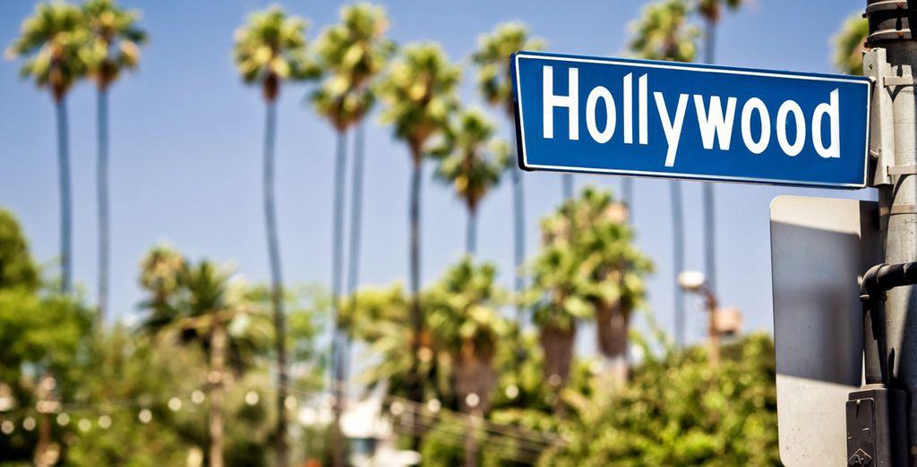 En passant par Hollywood...