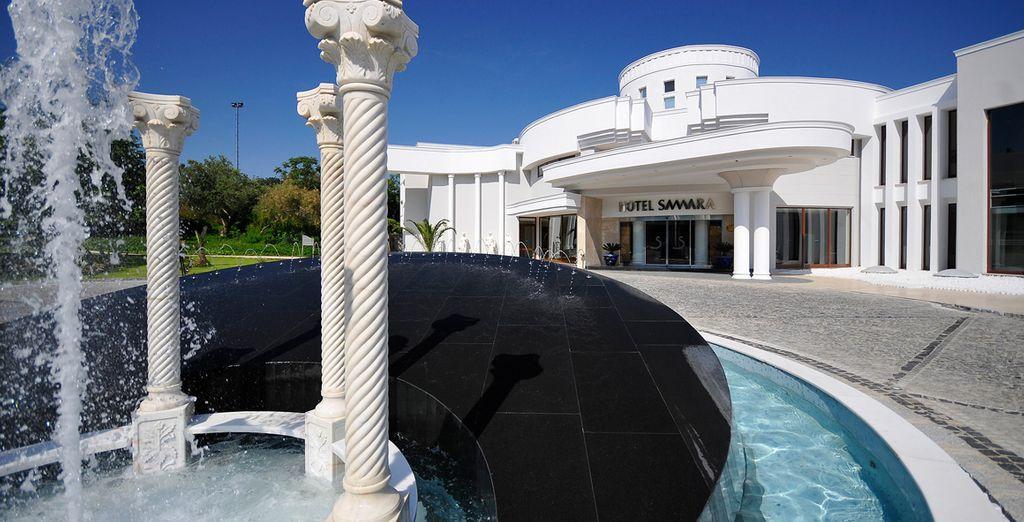 L'hôtel Samara vous accueille sous le soleil de la Turquie