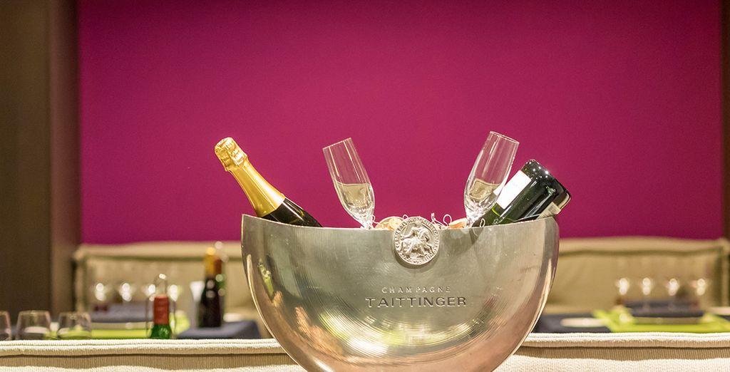 Ou offrez-vous une coupe de champagne en tête à tête