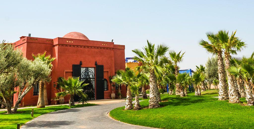Le Vizir Center Park & Resort vous attend