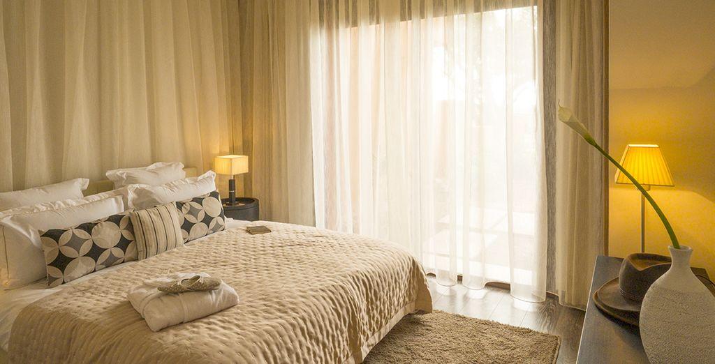 De deux belles chambres pour passer d'agréables vacances en famille