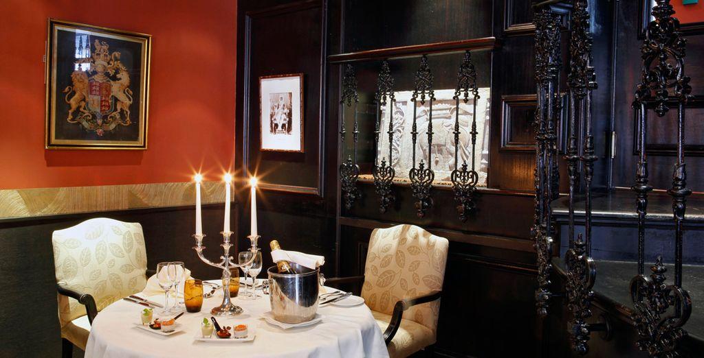 Profitez d'une ambiance délicate et romantique pour vos soirées à deux