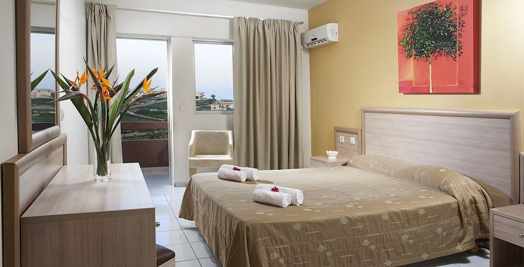 Un cadre de vacances paisibles et confortables...
