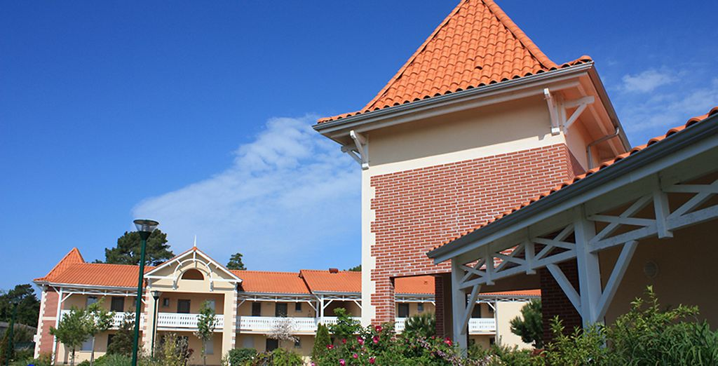 Reprenant les codes de l'architecture traditionnelle des villas de Soulac Sur Mer
