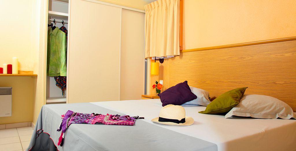 Posez vos valises dans des appartements modernes et parfaits pour des séjours en couple ou en famille.