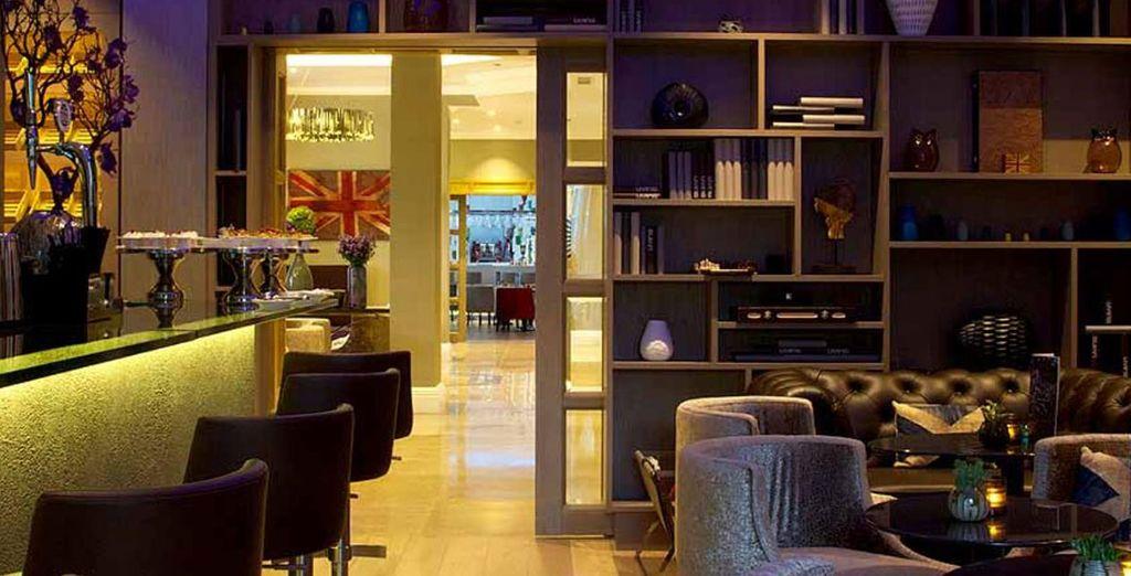 Hôtel Xenia London 4* haut de gamme avec bar et espace détente