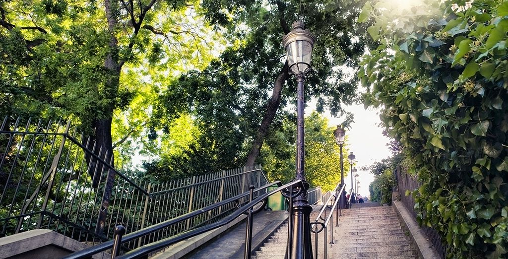 Au charme de Montmartre...