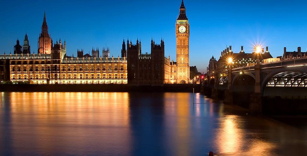 Tout en découvrant Londres...