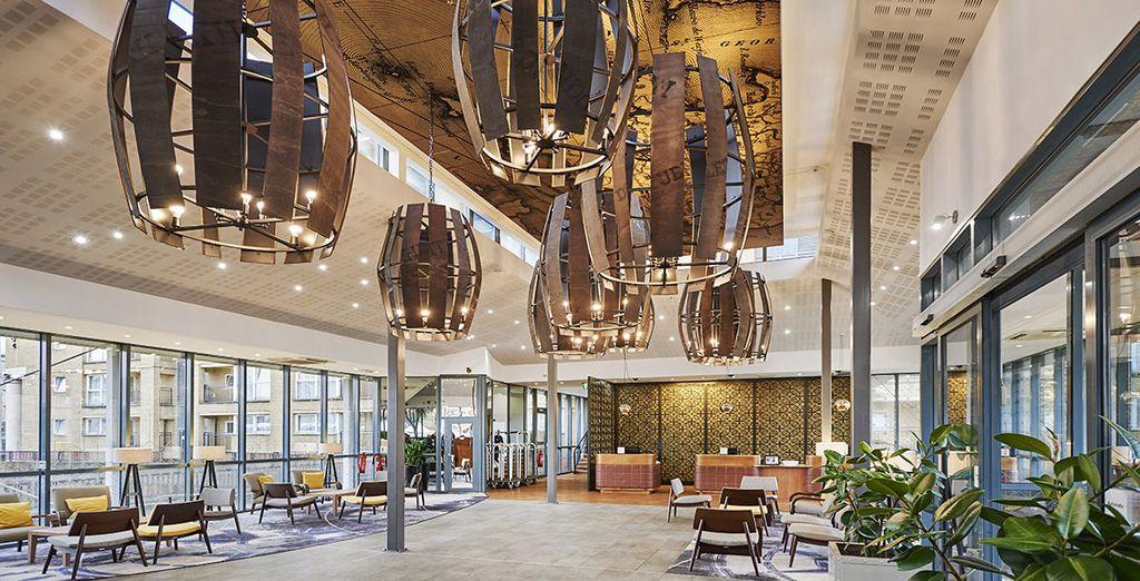 Bienvenue au Doubletree Hilton Docklands Riverside !