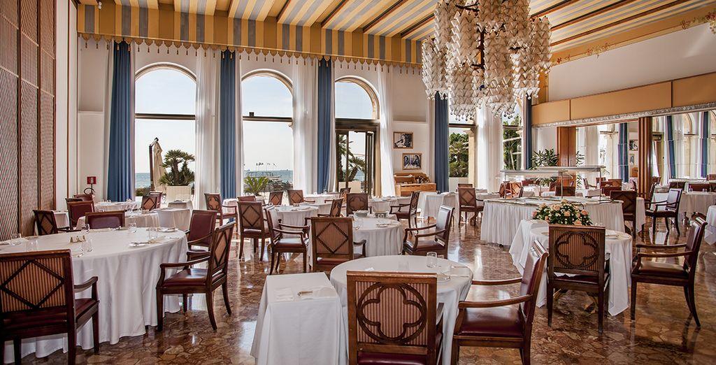 Découvrez les multiples saveurs de l'Italie au restaurant...