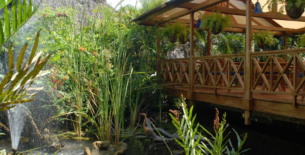 Faites-vous chouchouter au Spa niché dans la nature...