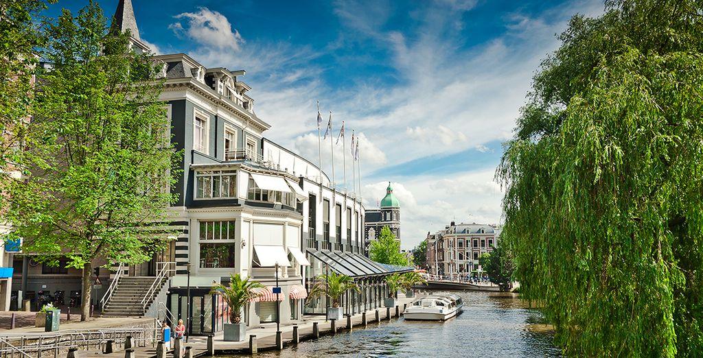 Au coeur de l'atmosphère bucolique des canaux d'Amsterdam - Park Hotel 4* Amsterdam