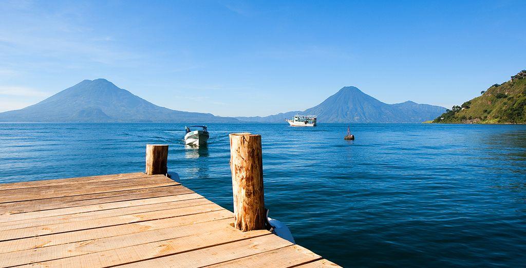 Avant d'atteindre le lac volcanique d'Atitlan et de rapartir la tête pleine de souvenirs