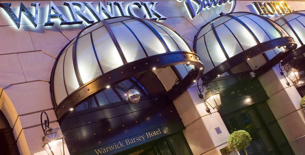 A l'hôtel Warwick Barsey - Hôtel Barsey by Warwick 4* Bruxelles