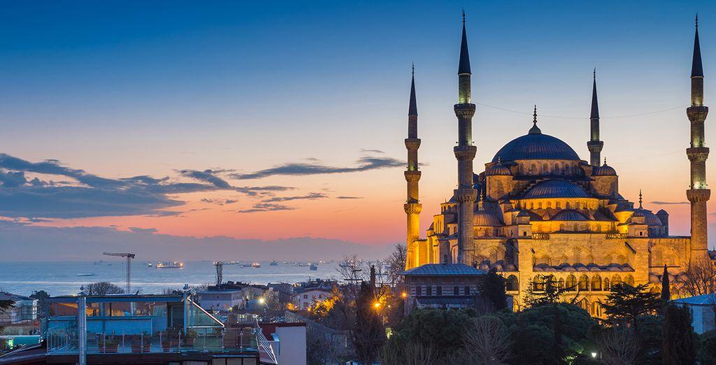 Et partez découvrir les richesses d'Istanbul