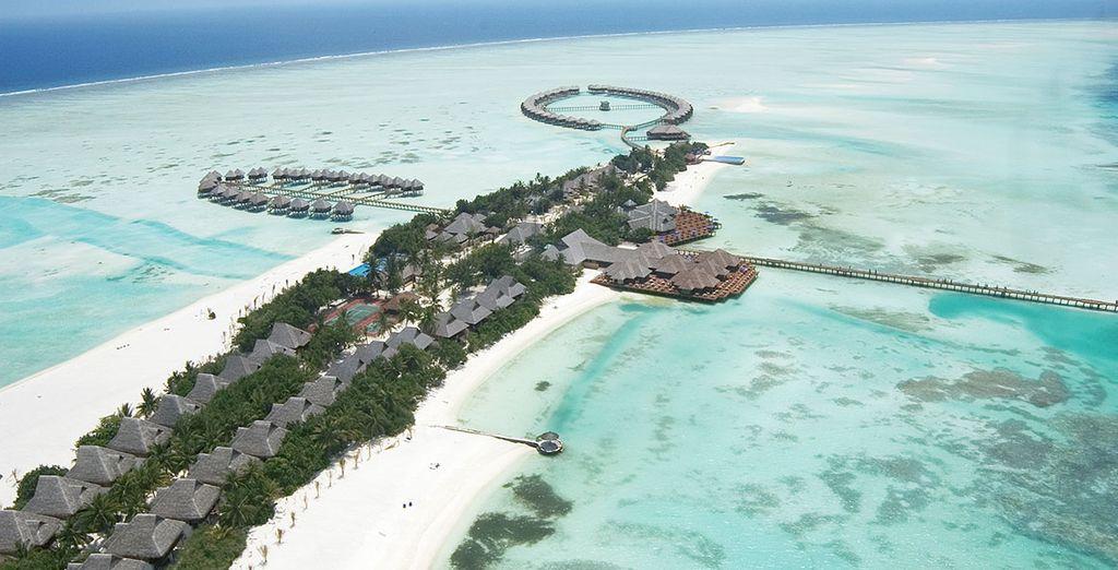Découvrez l'Hôtel Olhuveli Beach & Spa Resort 5* !