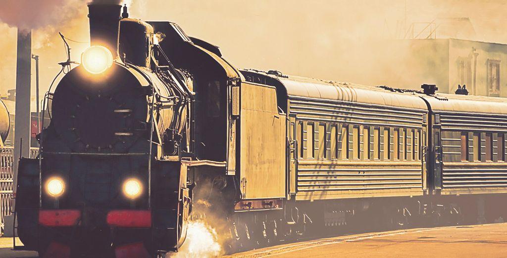 Prenez place à bord du légendaire Express Transsibérien...