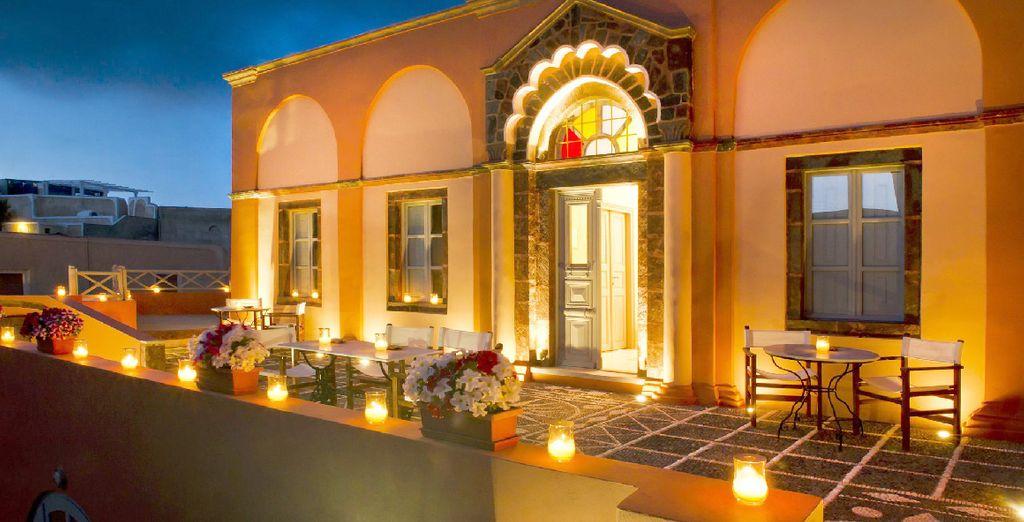 Vous allez adorer le charme de votre boutique hôtel niché dans la pittoresque Messaria, au centre de l'île