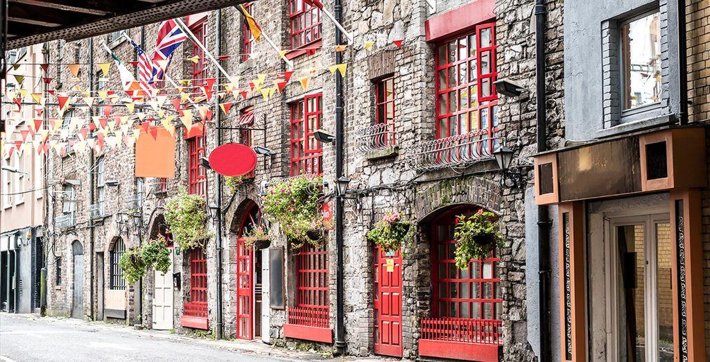 Appréciez le charme ancien de Dublin...