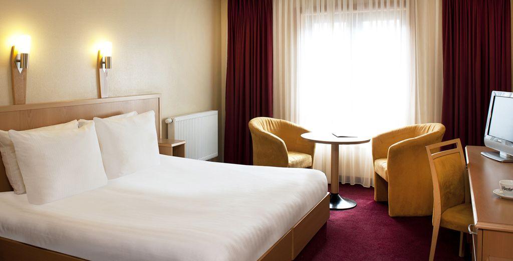 Durant votre séjour, profitez du confort de vos B&B, ou hôtels 3* ou 4*
