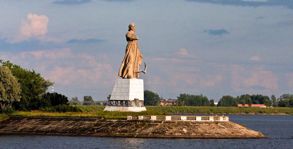 Mais aussi Yaroslavl, l'une des plus vieilles villes de Russie