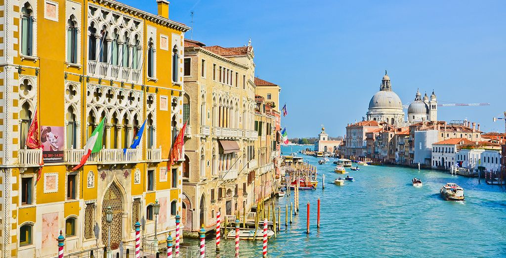En plein coeur de Venise...