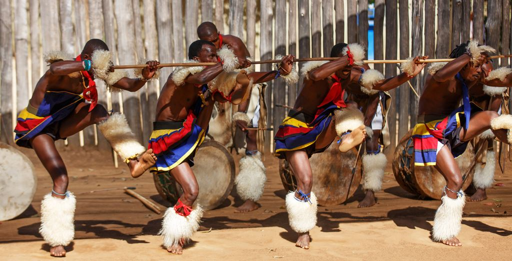 Et rencontrez l'Afrique traditionnelle