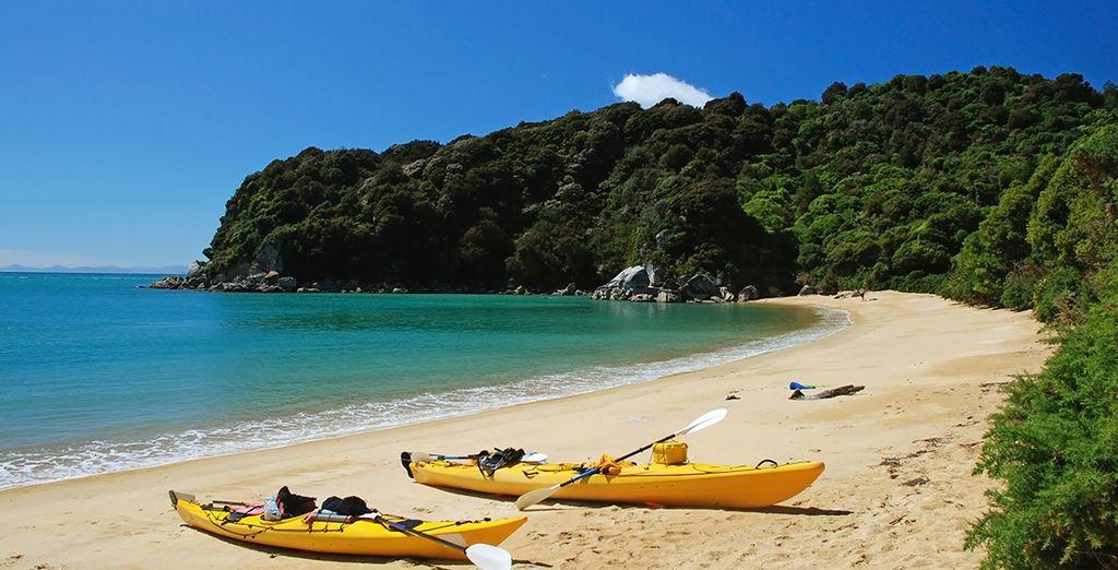 Photographie du Parc National Abel Tasman