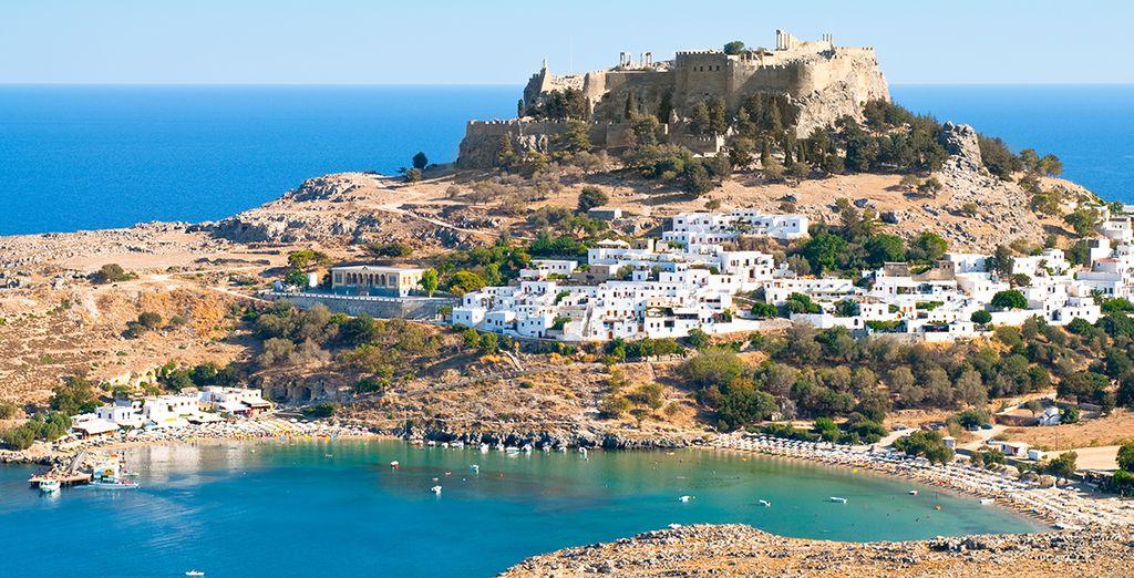 Explorez l'île de Rhodes