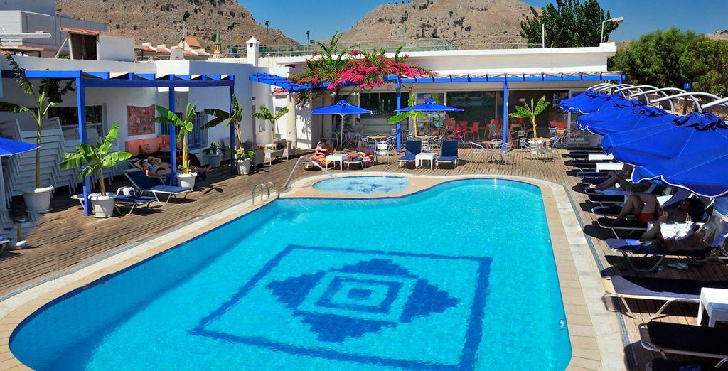 Optez pour un séjour reposant, sous le beau soleil de Rhodes
