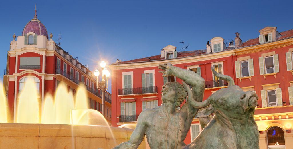 Et ne manquez pas le quartier du Vieux Nice