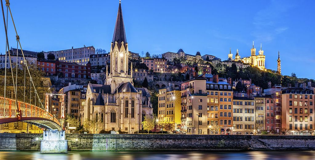 Photographie de Lyon et de ses monuments historiques incontournables