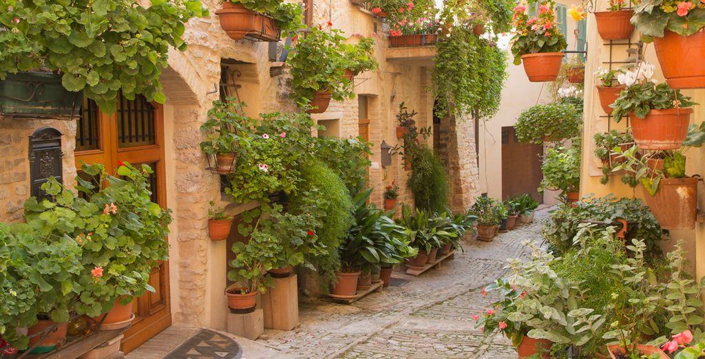 Faites une escale dans le cœur historique de Spello