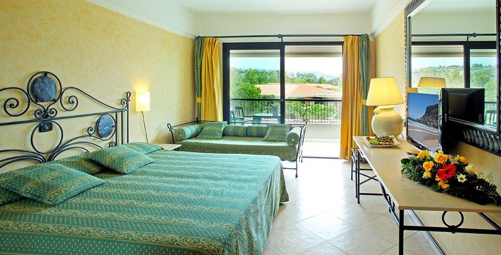 Votre chambre Classique, spacieuse et confortable, sera votre nid douillet le temps de votre séjour