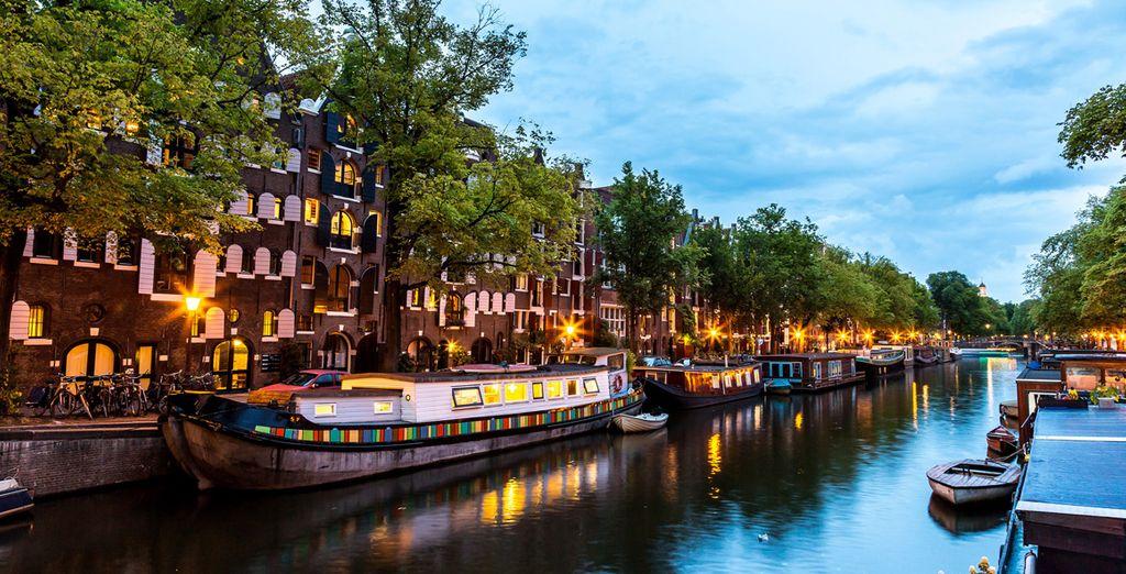 Vous aurez plaisir à contempler les canaux de la ville