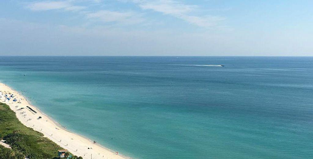 Mais également ses longues plages de sable blanc