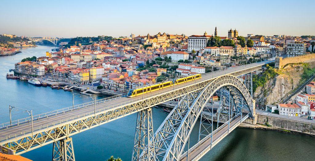 Et visiterez Porto...