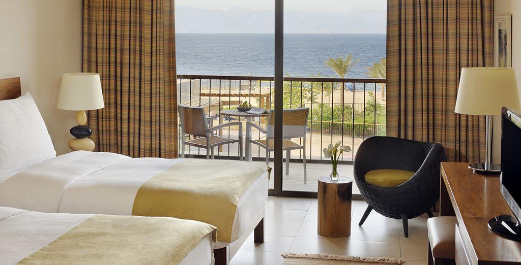 Un hôtel luxueux