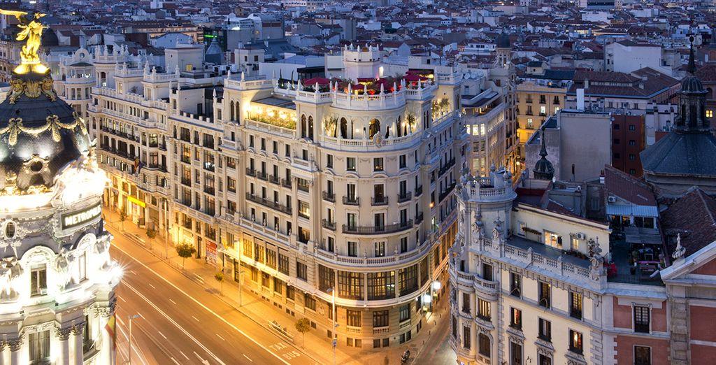 Idéalement situé dans la capitale espagnole