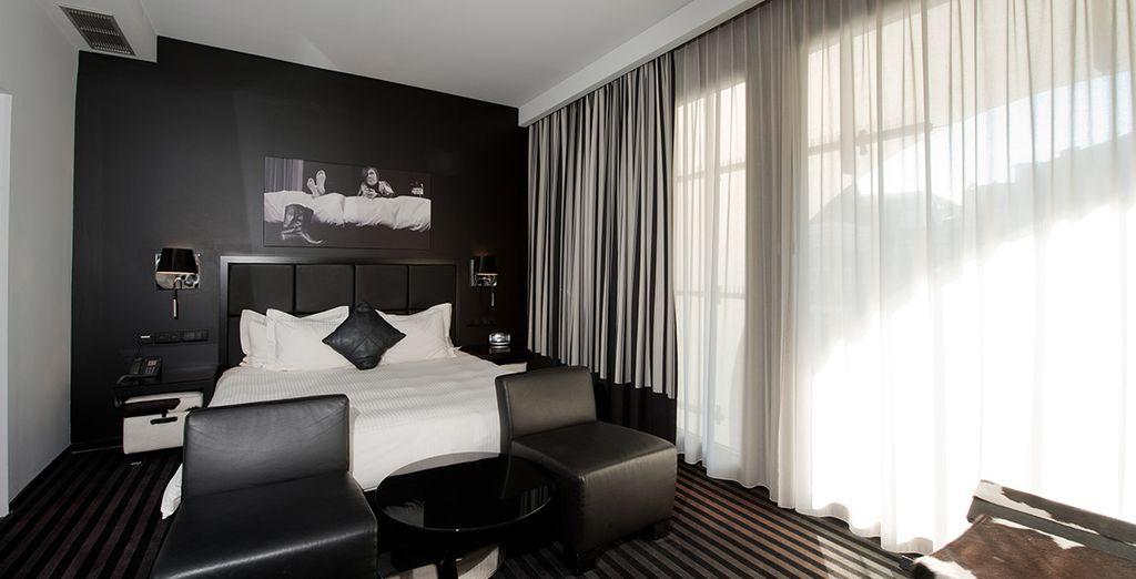 Où vous séjournez en chambre Deluxe, chic et design pour des nuits paisibles - Hôtel Be Manos 4* Bruxelles