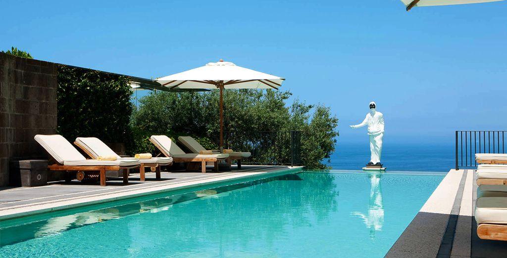 Surplombant le golfe de Naples... - Grand Hotel Angiolieri 5* Sorrento