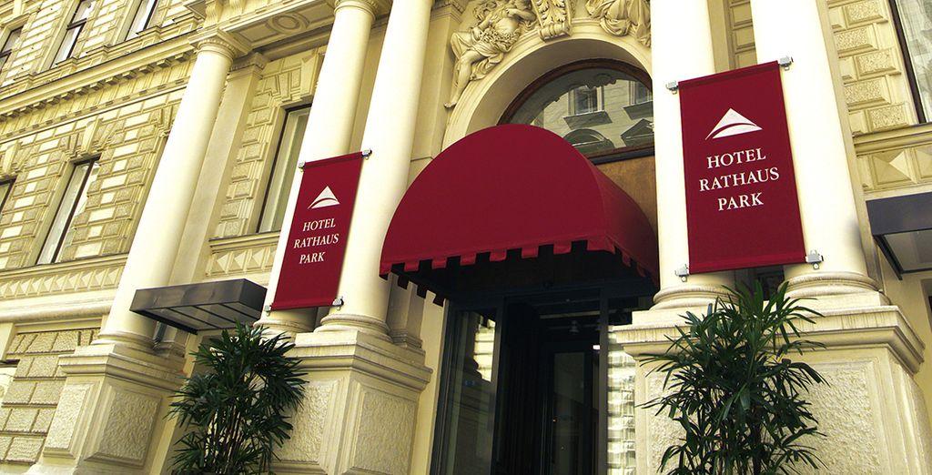 Et l'Austria Trend Hotel Rathauspark, un ancien palais restauré