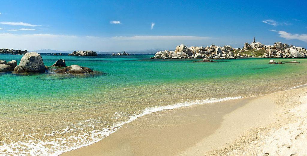Comme la sublime plage de Palombaggia