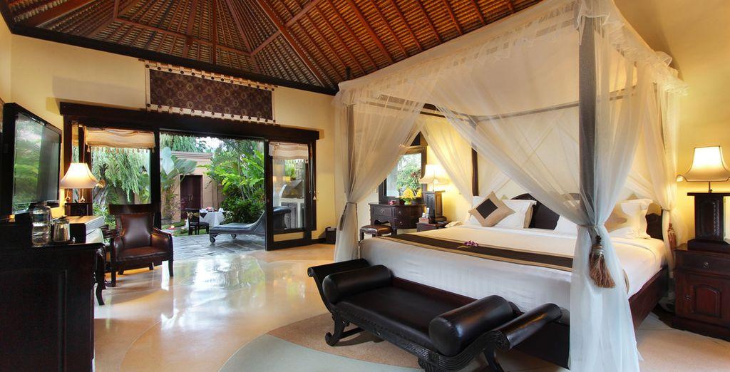 Vous poserez vos valises en villa One Bedroom Deluxe