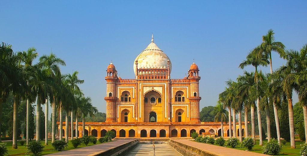 Partez en circuit au départ de Delhi, métropole aux multiples facettes