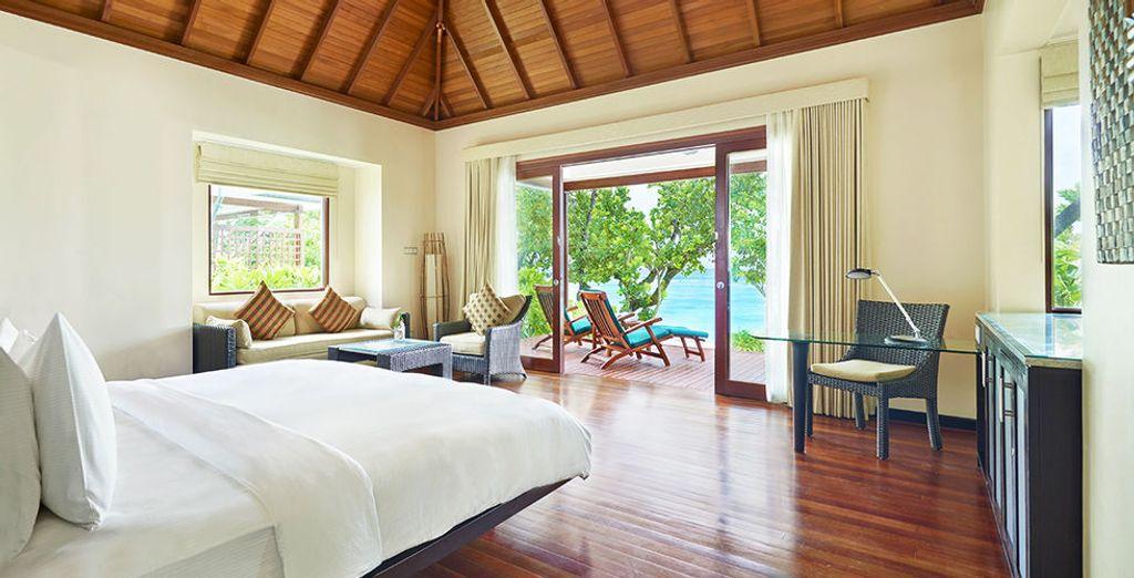Vivez un rêve éveillé en Beachfront Villa, face à la mer
