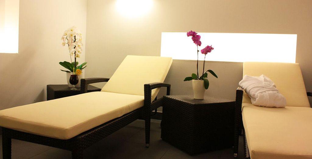 Et offrez-vous un massage des plus relaxants
